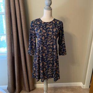 Alter'd State long sleeve swing dress
